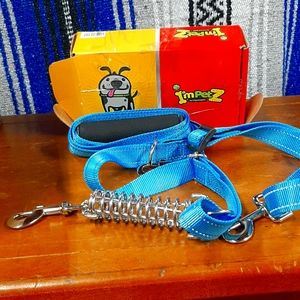 heavy duty dog leash for one or two dogs